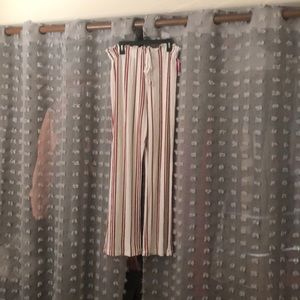 Stripes flow pants, great for beach or vacation.